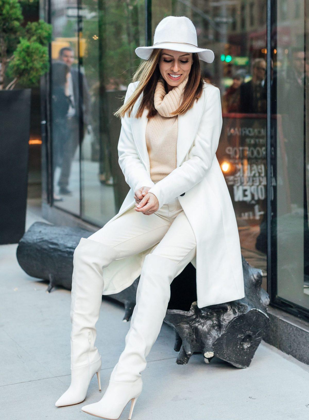 3 tips for wearing winter white sydne style