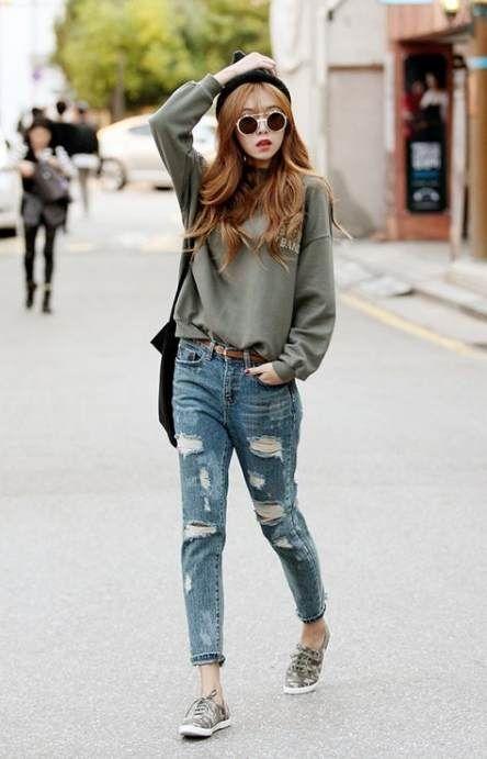 34 ideas for fashion korean tomboy street style fashion