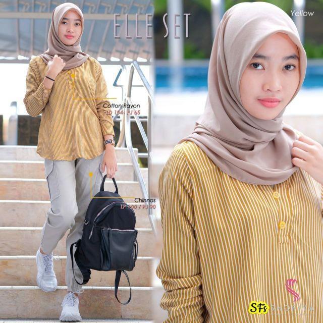baju muslim baju anak perempuan remaja terbaru 2020