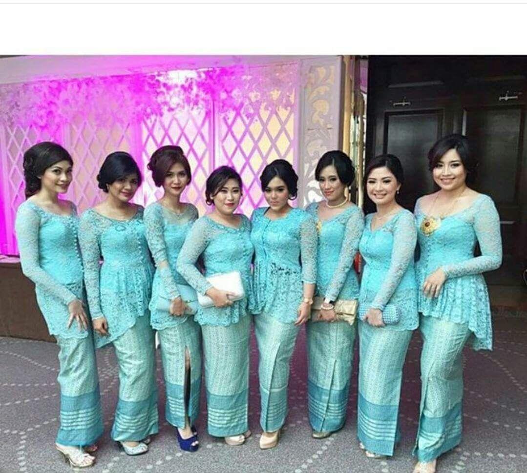baju seragam keluarga untuk pesta pernikahan model baju