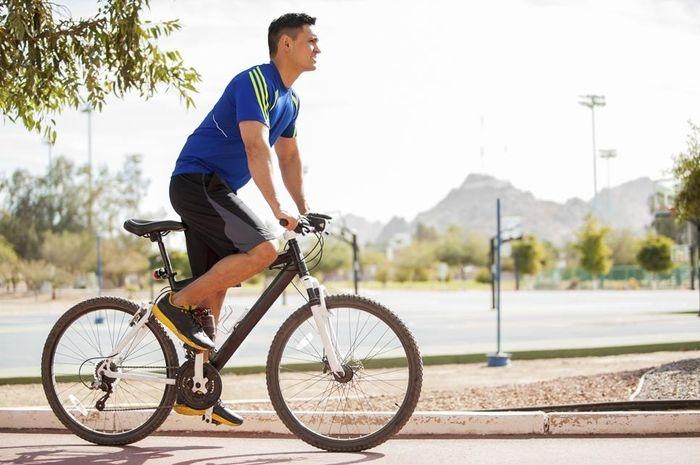 bersepeda ekstrem bikin pria tidak subur nakita