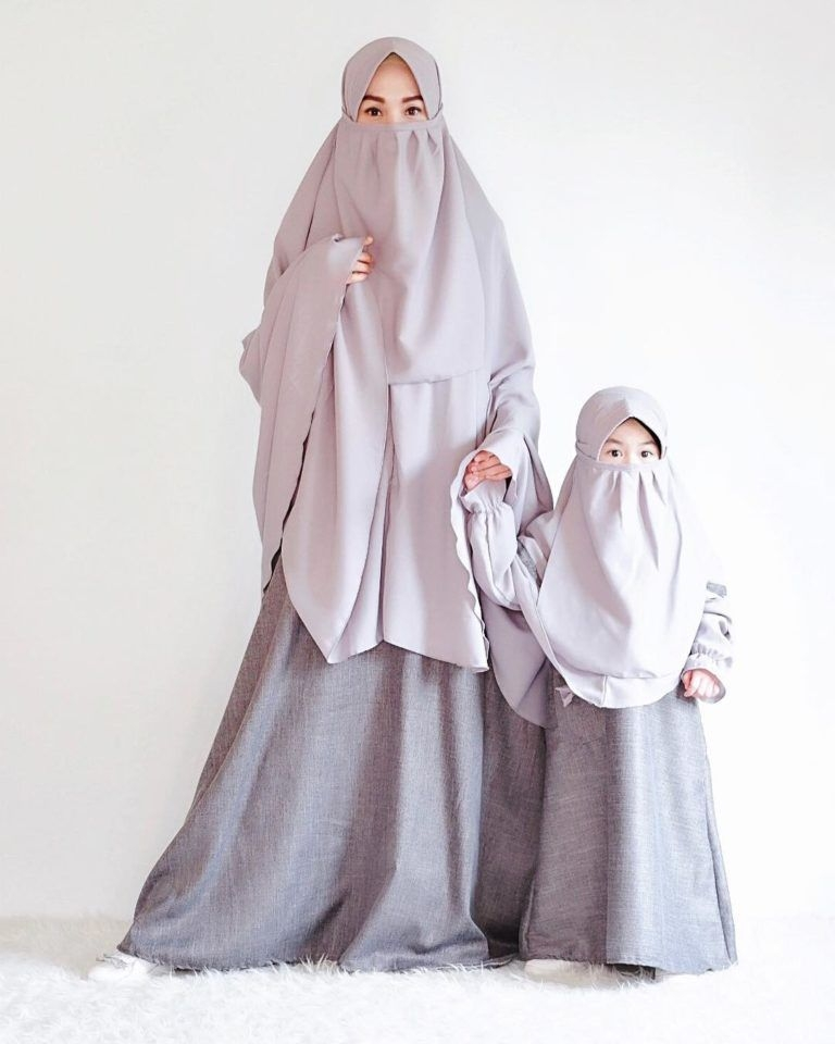 hijab milenial kebaya muslim bercadar