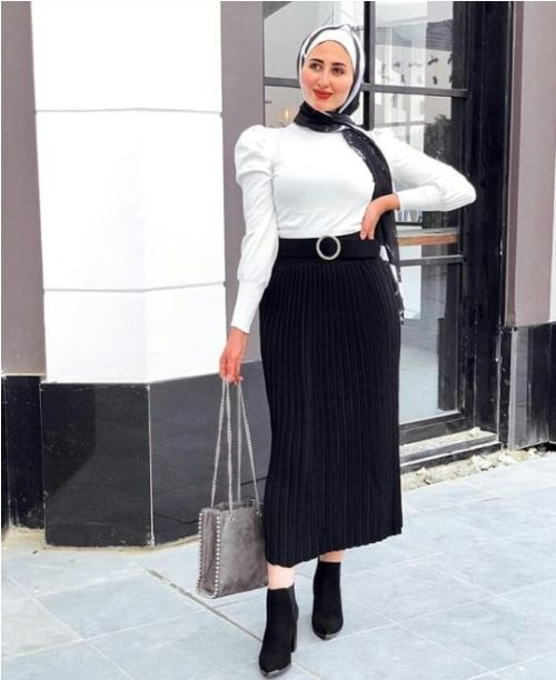 how to wear ankle boots with hijab just trendy girls