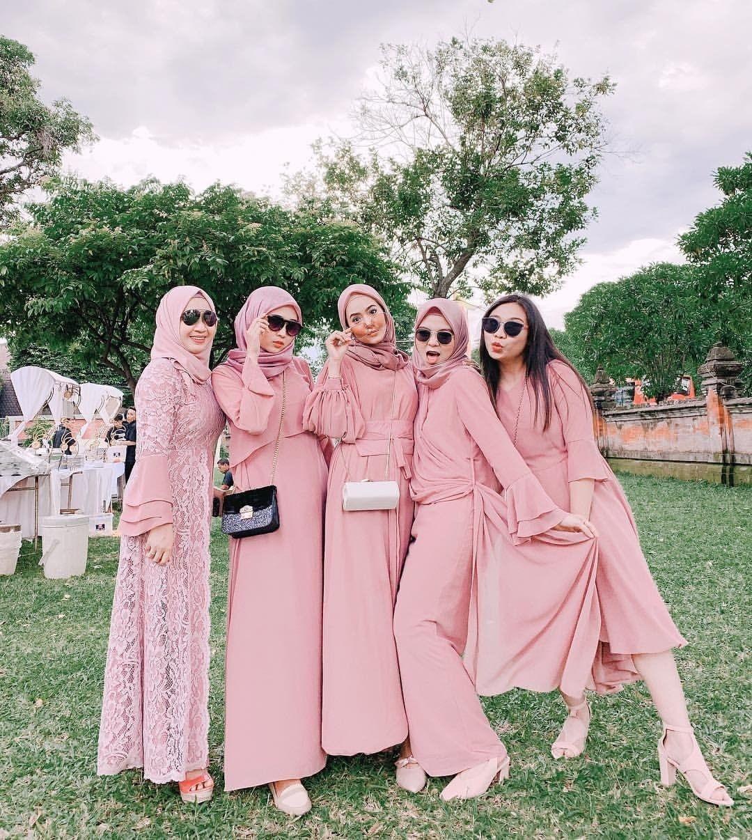 model baju bridesmaid hijab 2019 free wallpaper hd