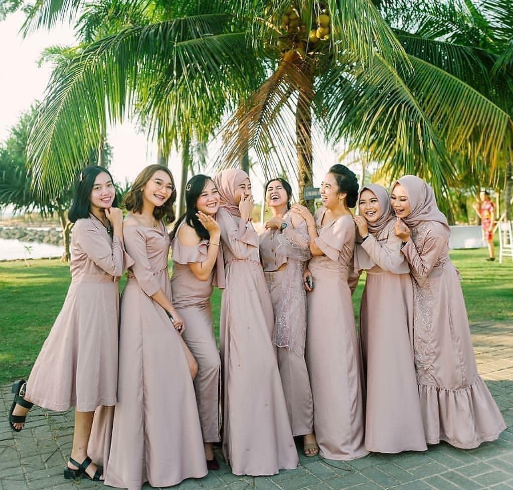 model baju nikahan keluarga 9 rekomendasi model seragam