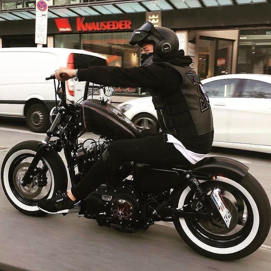 motorcycle motorcycle harley harley bobber sportster 48