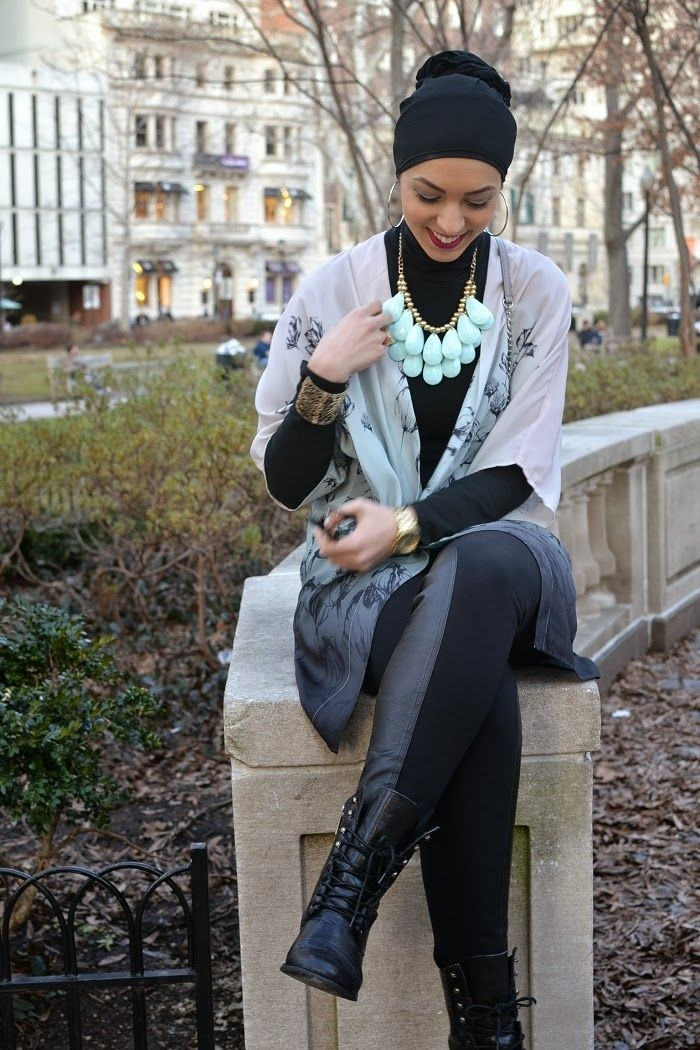 ombre hm flower top leather trimmed j crew leggings