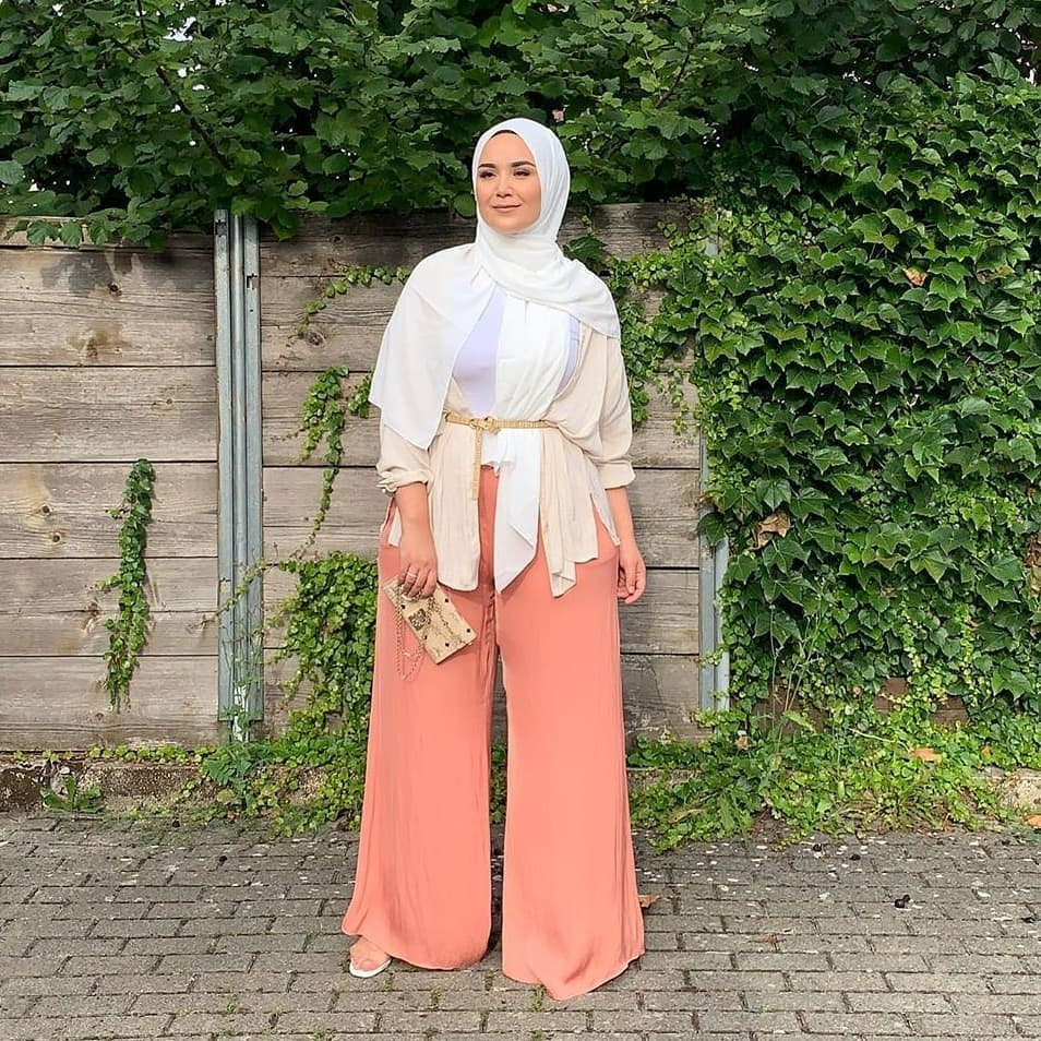 pastel favorites all the ways to wear peach hijab