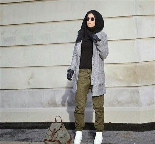 trend model busana hijab casual remaja terbaru 20162017
