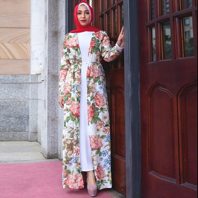 2019 abaya robe dubai qatar oman kimono cardigan muslim