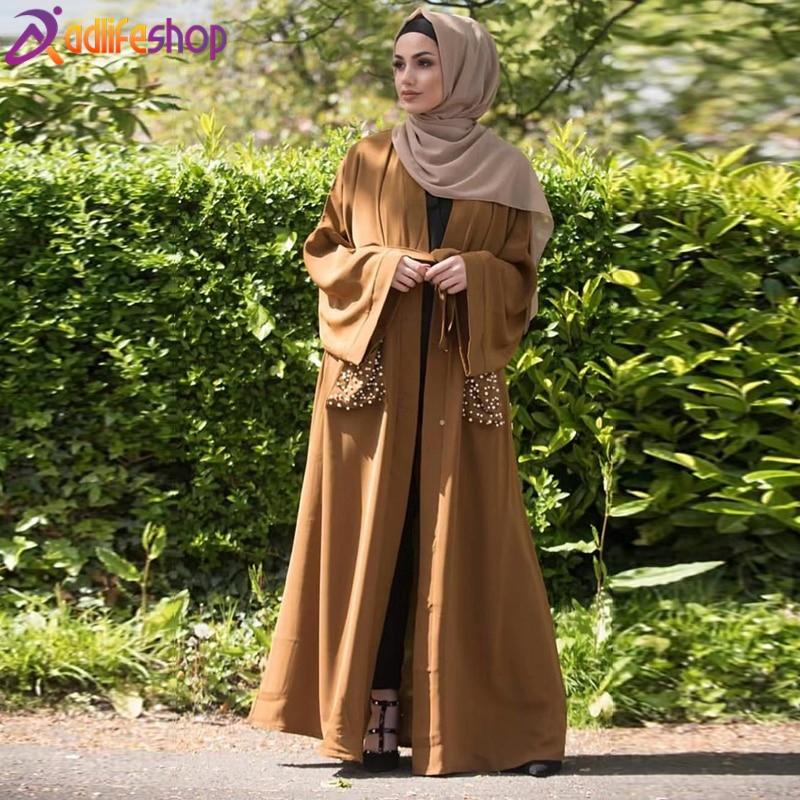 abaya turkish kimono hijab dress