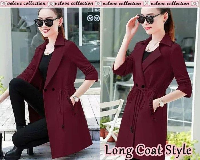 baju blazer wanita modern cantik ala korea ryn fashion