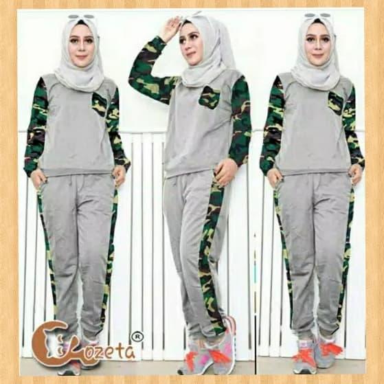 baju jogging wanita muslimah jualan online lazada