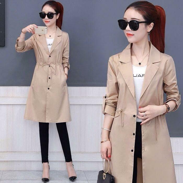 blazer coat wanita model terbaru cantik masa kini ryn