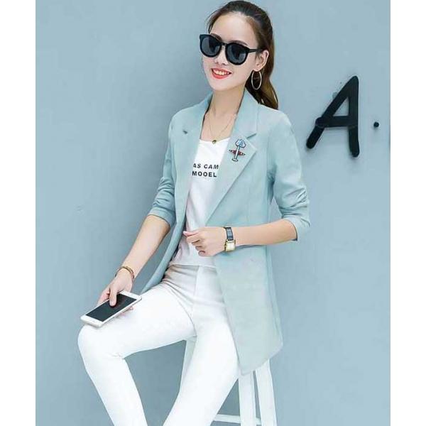 blazer wanita korea t4288 moro fashion