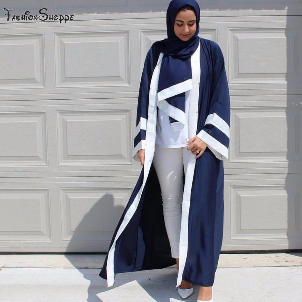 dubai open abaya pink black robes loose abayas for women
