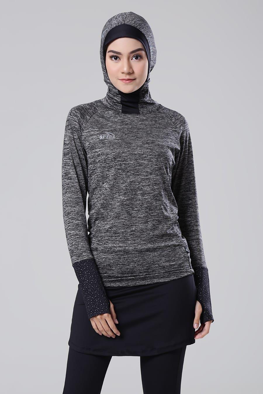 esorra hijab cap baselayer ls w hijab kaos muslim