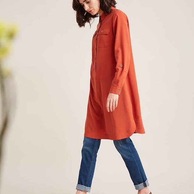 go casual today kayra tunik jeans coat fashion my