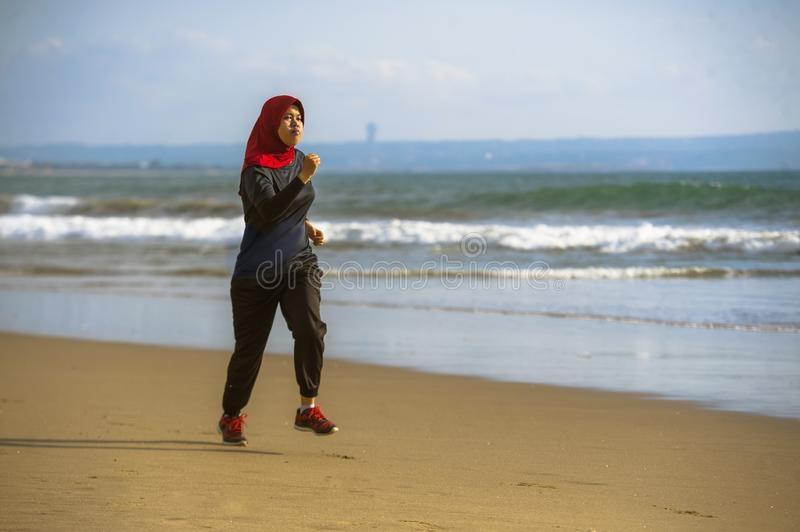 healthy asian muslim woman hijab stock photo image of