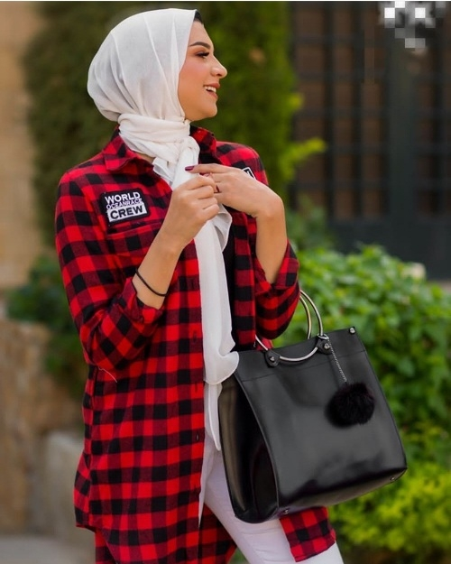how to dress smart casual in winter with hijab just