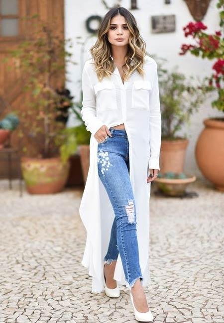 ide mix and match celana jeans wanita yang kekinian dan trendi