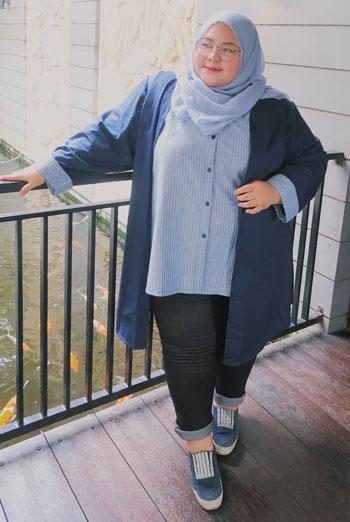 ide outfit untuk kamu wanita yang bertubuh gemuk