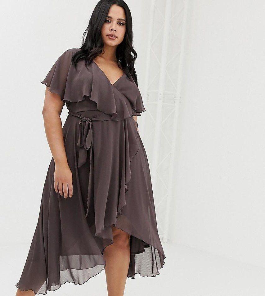 image de eau desain baju pesta untuk wanita gemuk