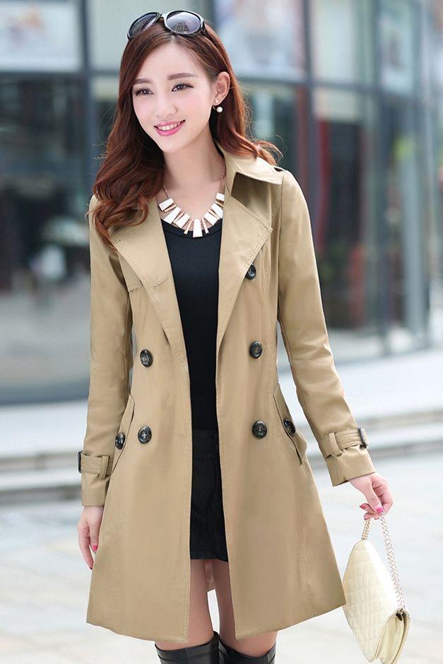 long coat wanita blazer wanita jyw832khaki baju winter