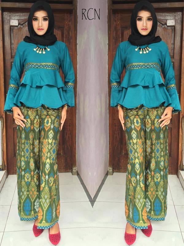 model gamis celana kulot hijab aisa