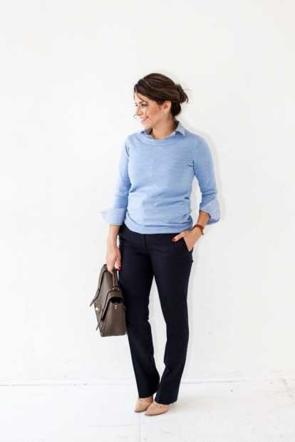 pakaian formal wanita untuk interview
