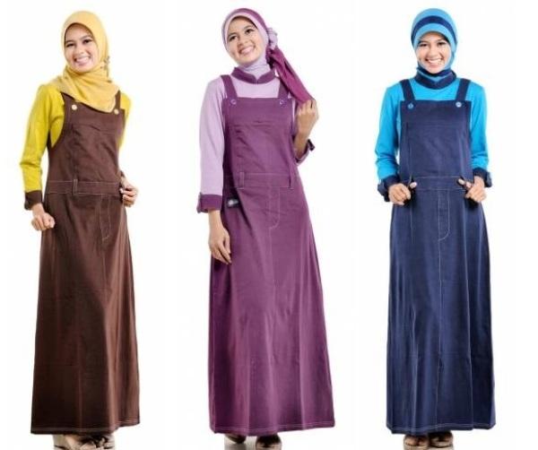 referensi model baju kodok muslim terbaru harian fashion