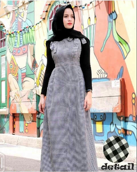 setelan hijab baju muslim wanita modern cantik unik