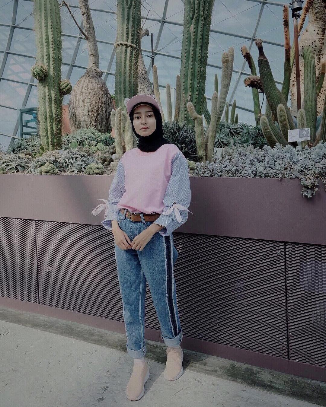 style hijab untuk olahraga lari hijab muslimah