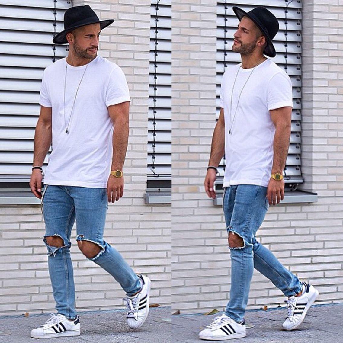 stylish boys men style casual outfit street kosta williams