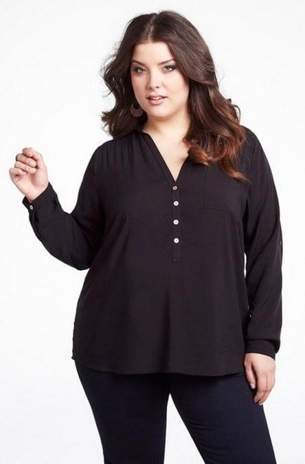 tips berpakaian untuk wanita gemuk agar terlihat lebih