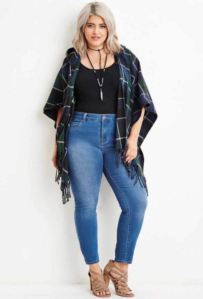 tips fashion untuk wanita bertubuh gemuk agar terlihat 1