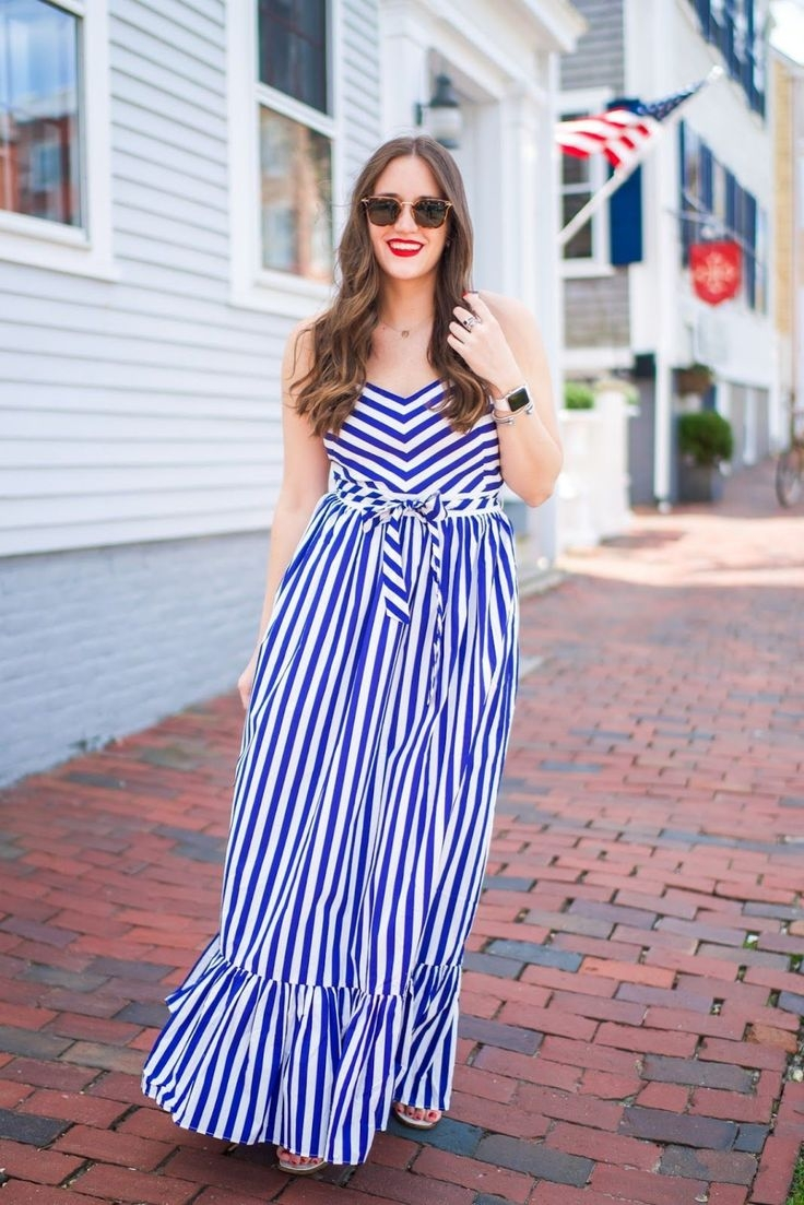 vertical striped dress outfit ideas on stylevore