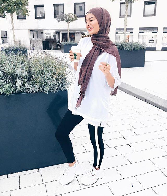 websta busraoyk hijab fashion hijabi outfits muslimah 1
