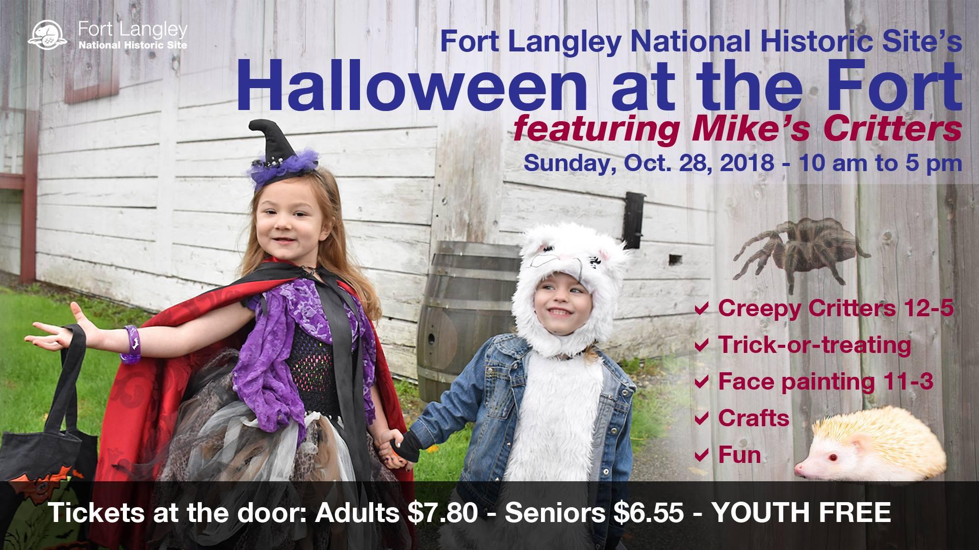 Fort Langley Kids Halloween - Halloween Attractions in Langley