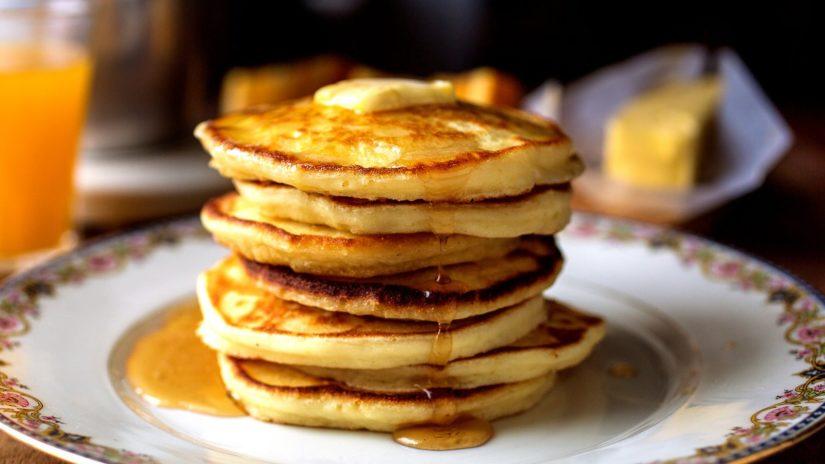 krause berry farms pancake breakfast with santa langley experience