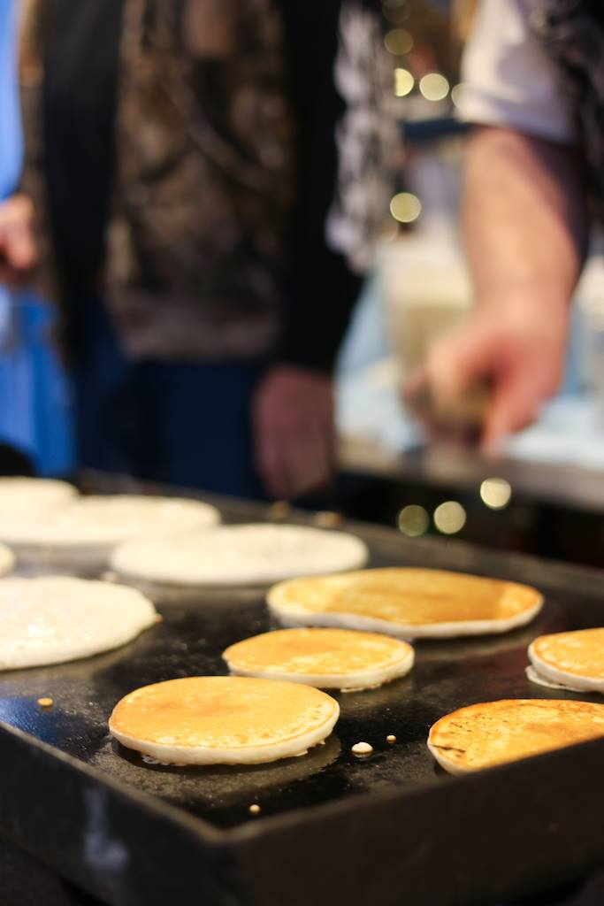 krause berry farms langley experience pancake breakfast with santa