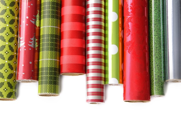 dollar store experience langley wrapping paper