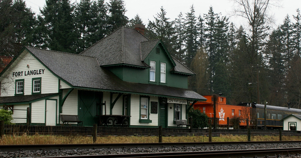 cn rail fort langley