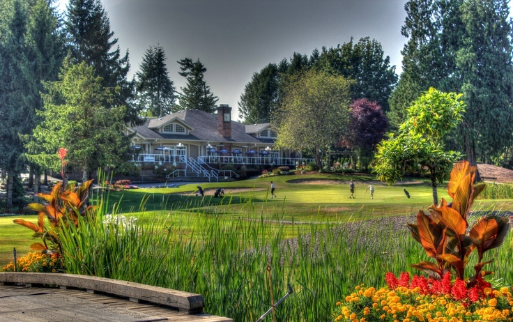 Golfing in Langley at Fort Langley Golf Course