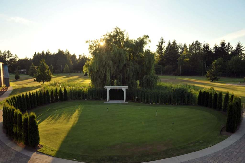 Langley Golf & Banquet centre driving range