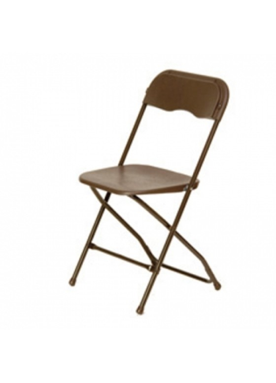 Folding Chair Brown