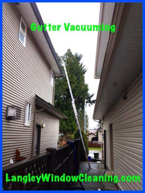LangleyWindowCleaning.com – Gutter Vacuuming