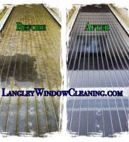 LangleyWindowCleaning.com – patio roof skylight