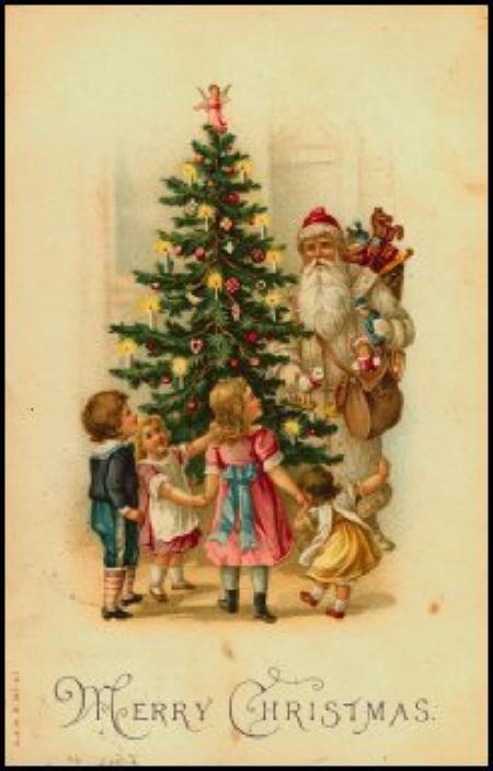 Pagina Cartoline Antiche Natalizie