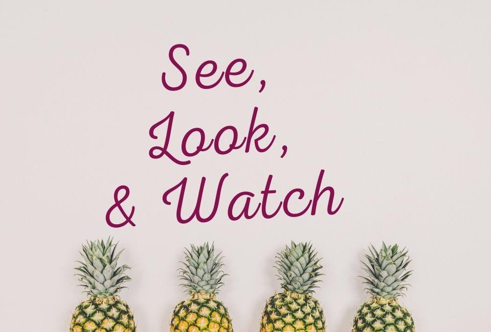 see look watch